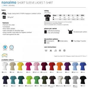 Футболка 'Nanaimo Lady' S (Elevate)-380124