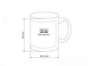 Чашка керамическая Barton, 325мл
