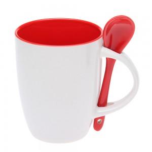 Чашка с ложкой-882102
