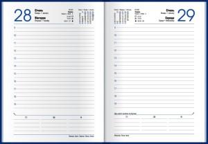 Ежедневник Economix Gallaxy А5, датированный  2020