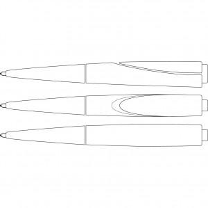 Ручка Schneider  F-ACE, черный стержень