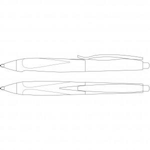 Ручка Schneider Haptify Promo прозрачная