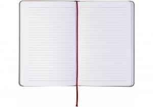 Блокнот Optima Combi 1 А5, на резинке, в линию