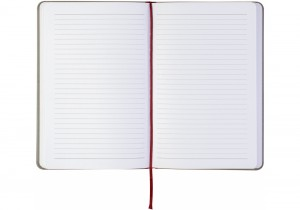 Блокнот Optima Combi 2 А5, на резинке, в линию