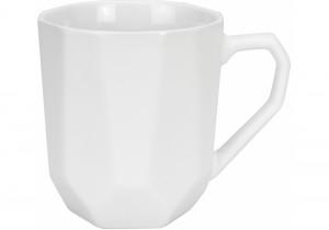 Чашка керамическая с блюдцем Optima Promo Modern, 320 мл