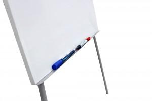Флипчарт магнитно-маркерный Optima с прижимом, 67,5х103,8см