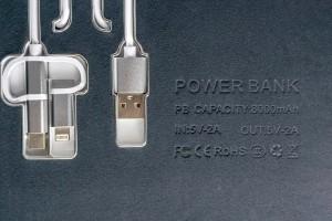 Кейс Smart Power Slim Charging Case, 8000 m/Ah
